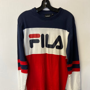Primary Photo - BRAND: FILA STYLE: TOP LONG SLEEVE BASIC COLOR: NAVY SIZE: S SKU: 298-29866-221