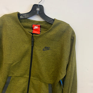 Primary Photo - BRAND: NIKE STYLE: ATHLETIC JACKET COLOR: GREEN SIZE: S SKU: 298-29814-72584