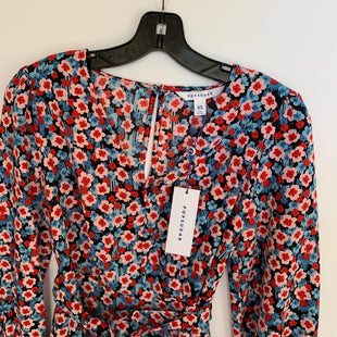 Primary Photo - BRAND: POSITIVE ATTITUDE STYLE: DRESS SHORT LONG SLEEVE COLOR: FLOWERED SIZE: XS SKU: 298-29838-383
