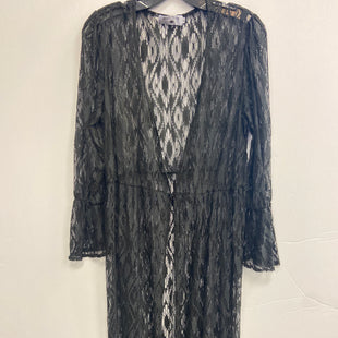 Primary Photo - BRAND:    CLOTHES MENTOR STYLE: COVERUP COLOR: BLACK SIZE: M OTHER INFO: CRAZY TRAIN - SKU: 298-29814-75255