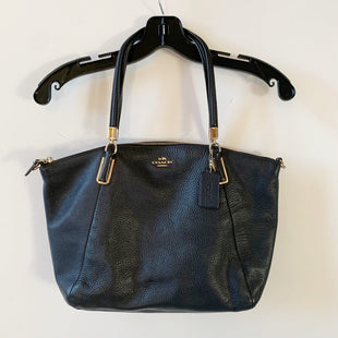 Primary Photo - BRAND: COACH STYLE: HANDBAG DESIGNER COLOR: NAVY SIZE: MEDIUM SKU: 298-29814-72181