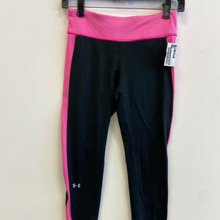 Primary Photo - BRAND: UNDER ARMOUR STYLE: ATHLETIC PANTS COLOR: PINKBLACK SIZE: S SKU: 298-29859-5552