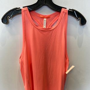 Primary Photo - BRAND: ATHLETA STYLE: ATHLETIC TANK TOP COLOR: CORAL SIZE: XS SKU: 298-29811-53962