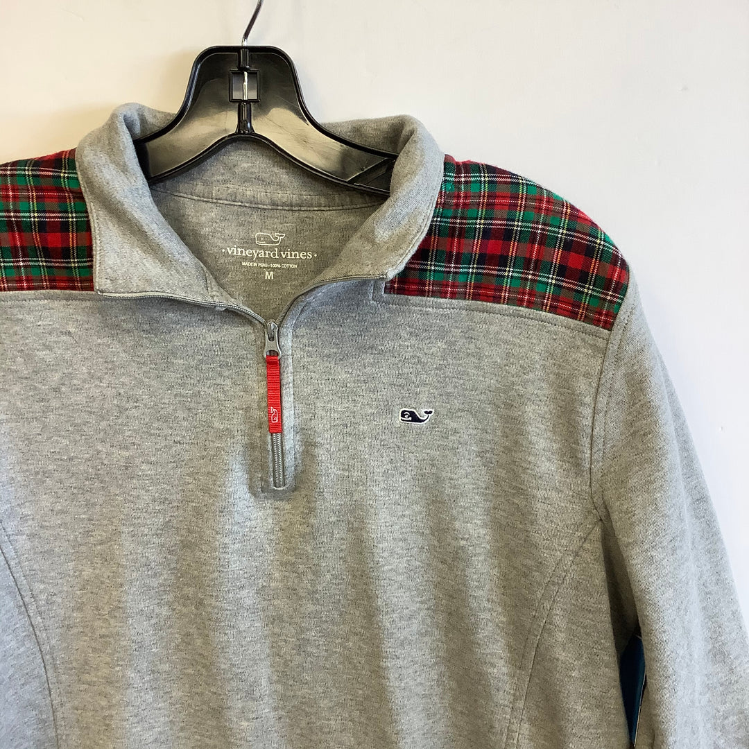 Primary Photo - BRAND: VINEYARD VINES <BR>STYLE: SWEATER LIGHTWEIGHT <BR>COLOR: GREY <BR>SIZE: M <BR>SKU: 298-29814-72959