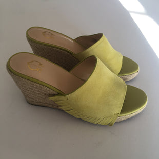 Primary Photo - BRAND:    CLOTHES MENTOR STYLE: SANDALS HIGH COLOR: GREEN SIZE: 7.5 OTHER INFO: WONDER - SKU: 298-29814-68675