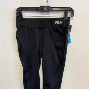 Primary Photo - BRAND: FILA STYLE: ATHLETIC CAPRIS COLOR: BLACK SIZE: XS SKU: 298-29859-5605