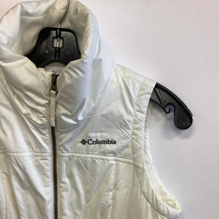 Primary Photo - BRAND: COLUMBIA STYLE: VEST COLOR: WHITE SIZE: XS SKU: 298-29865-44