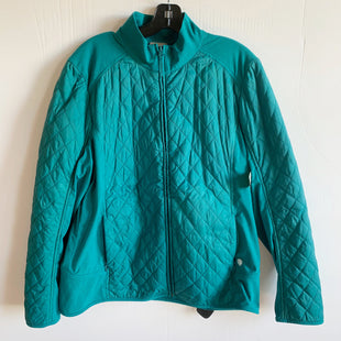 Primary Photo - BRAND: TALBOTS STYLE: JACKET OUTDOOR COLOR: TEAL SIZE: XL SKU: 298-29859-4099