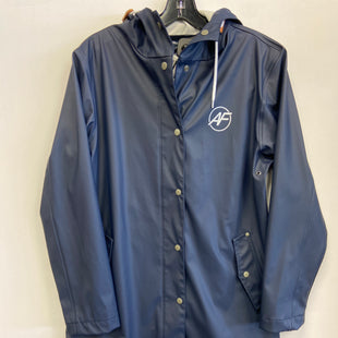 Primary Photo - BRAND:    CLOTHES MENTOR STYLE: JACKET OUTDOOR COLOR: NAVY SIZE: M OTHER INFO: ANDES FOREST - RAINCOAT SKU: 298-29814-75423
