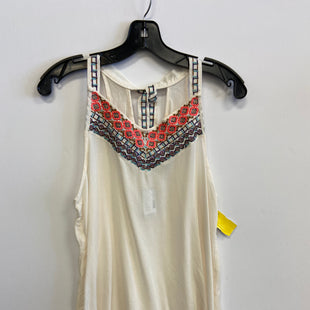 Primary Photo - BRAND: MAURICES STYLE: TOP SLEEVELESS COLOR: CREAM SIZE: S SKU: 298-29840-8453