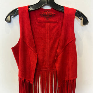 Primary Photo - BRAND:    CLOTHES MENTOR STYLE: COVERUP COLOR: RED SIZE: S OTHER INFO: CRAZY TRAIN - SKU: 298-29859-6177