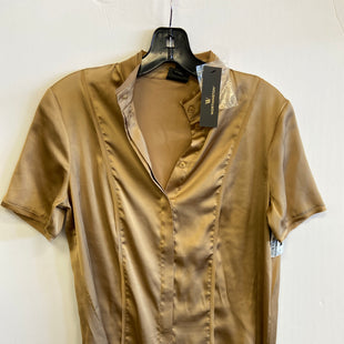 Primary Photo - BRAND: WORTHINGTON STYLE: TOP SHORT SLEEVE COLOR: GOLD SIZE: XS SKU: 298-29859-5398