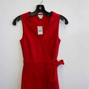Primary Photo - BRAND: J CREW STYLE: DRESS SHORT SLEEVELESS COLOR: RED SIZE: XXS SKU: 298-29814-71550