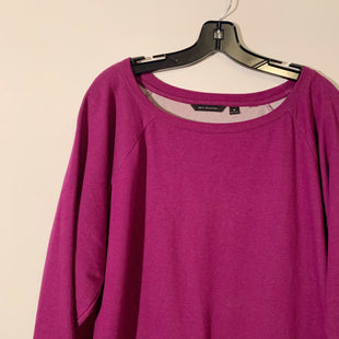 Primary Photo - BRAND: HALSTON STYLE: ATHLETIC SWEATSHIRT TOP COLOR: PURPLE SIZE: 3X SKU: 298-29813-34358