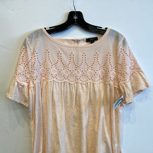 Primary Photo - BRAND: J CREW STYLE: TOP SHORT SLEEVE COLOR: LIGHT PINK SIZE: M SKU: 298-29814-73037