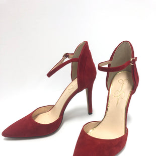 Primary Photo - BRAND: JESSICA SIMPSON STYLE: SHOES HIGH HEEL COLOR: RED SIZE: 10 SKU: 298-29857-2616