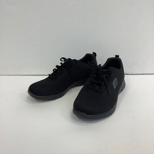 Primary Photo - BRAND: SKECHERS STYLE: SHOES ATHLETIC COLOR: BLACK SIZE: 7 SKU: 298-29814-72952