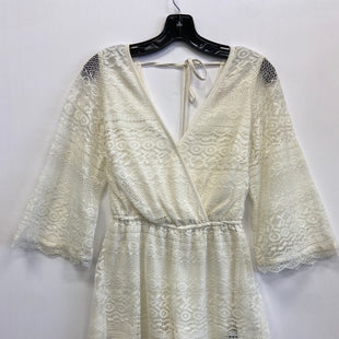 Primary Photo - BRAND: BAND OF GYPSIES STYLE: SHORTS SET COLOR: CREAM SIZE: XS SKU: 298-29859-6181