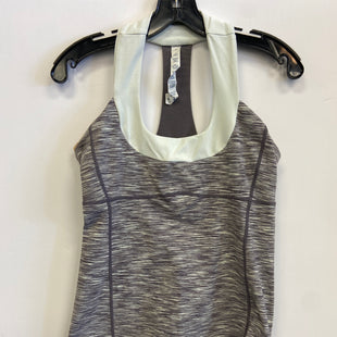 Primary Photo - BRAND: LULULEMON STYLE: ATHLETIC TANK TOP COLOR: GREY SIZE: 10 SKU: 298-29811-52710