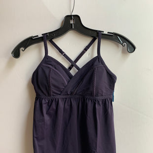 Primary Photo - BRAND: LULULEMON STYLE: ATHLETIC TANK TOP COLOR: PLUM SIZE: 2 SKU: 298-29813-35405