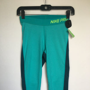 Primary Photo - BRAND: NIKE APPAREL STYLE: ATHLETIC CAPRIS COLOR: BLUE SIZE: S SKU: 298-29858-3396