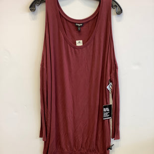 Primary Photo - BRAND: EXPRESS STYLE: TUNIC LONG SLEEVE COLOR: MAROON SIZE: L SKU: 298-29835-21304