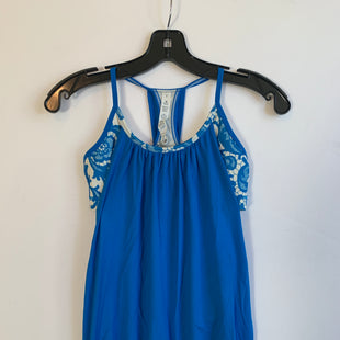 Primary Photo - BRAND: LULULEMON STYLE: ATHLETIC TANK TOP COLOR: BLUE SIZE: 4 SKU: 298-29811-51820
