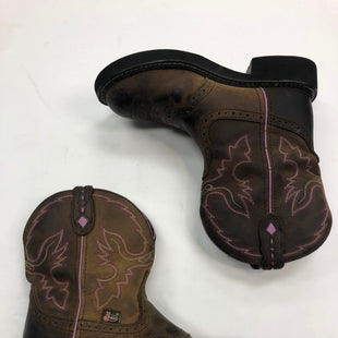 Primary Photo - BRAND: ARIAT STYLE: BOOTS ANKLE COLOR: BROWN SIZE: 6.5 SKU: 298-29852-1919