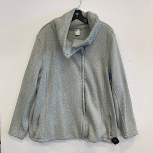 Primary Photo - BRAND: OLD NAVY STYLE: ATHLETIC JACKET COLOR: GREY SIZE: 3X SKU: 298-29859-4559