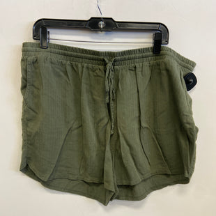 Primary Photo - BRAND: UNIVERSAL THREAD STYLE: SHORTS COLOR: GREEN SIZE: 1X SKU: 298-29811-53739