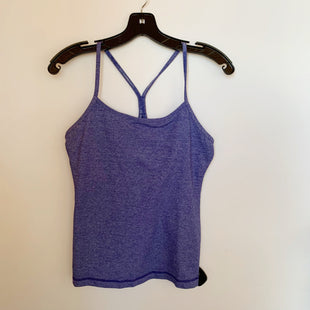 Primary Photo - BRAND: LULULEMON STYLE: ATHLETIC TANK TOP COLOR: BLUE SIZE: M SKU: 298-29811-50135