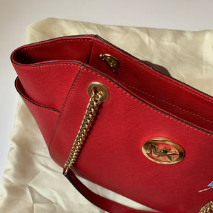 Primary Photo - BRAND: MICHAEL KORS STYLE: HANDBAG COLOR: RED SIZE: MEDIUM SKU: 298-29811-53122