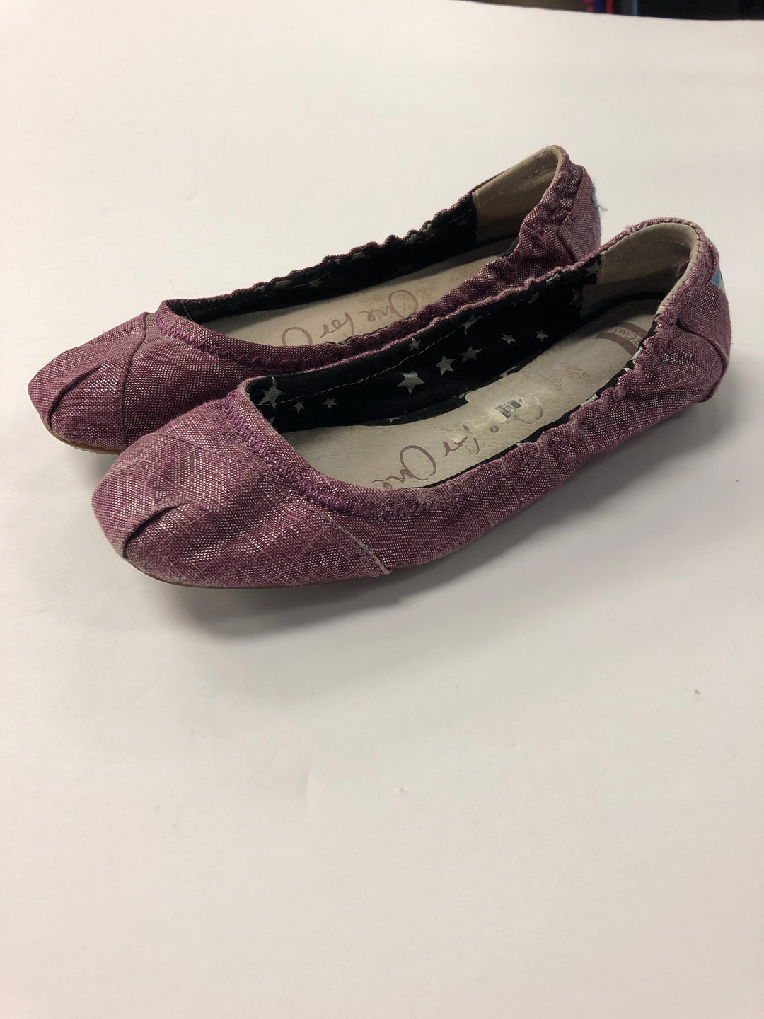 Primary Photo - BRAND: TOMS <BR>STYLE: SHOES FLATS <BR>COLOR: PINK <BR>SIZE: 6 <BR>SKU: 298-29814-63908