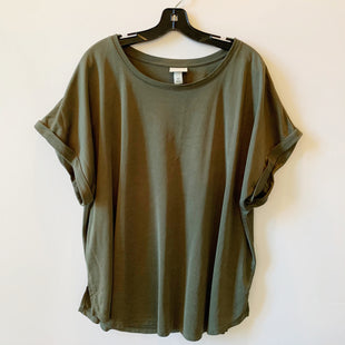 Primary Photo - BRAND: AVA & VIV STYLE: TOP SHORT SLEEVE COLOR: GREEN SIZE: 4X SKU: 298-29813-34719