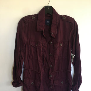 Primary Photo - BRAND: GAP STYLE: JACKET OUTDOOR COLOR: MAROON SIZE: XS SKU: 298-29835-21984