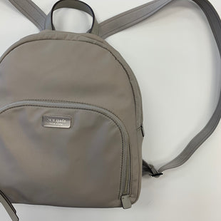 Primary Photo - BRAND: KATE SPADE STYLE: BACKPACK COLOR: GREY SIZE: SMALL SKU: 298-29814-73963