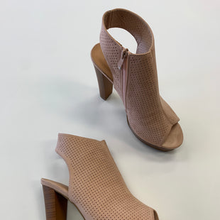 Primary Photo - BRAND: SHOEDAZZLE STYLE: SHOES HIGH HEEL COLOR: BROWN SIZE: 8.5 SKU: 298-29811-46888
