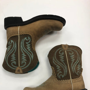 Primary Photo - BRAND: ARIAT STYLE: BOOTS ANKLE COLOR: BROWN SIZE: 8 SKU: 298-29852-1586