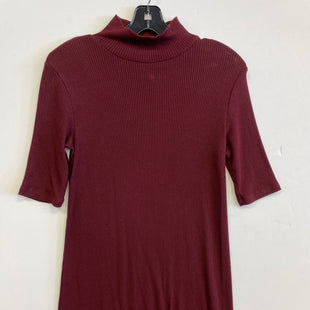 Primary Photo - BRAND: OLD NAVY STYLE: DRESS SHORT SHORT SLEEVE COLOR: MAROON SIZE: PETITE   XS SKU: 298-29814-72445