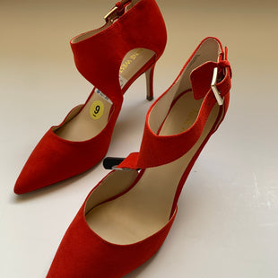 Primary Photo - BRAND: NINE WEST STYLE: SHOES HIGH HEEL COLOR: RED SIZE: 9 SKU: 298-29859-6080