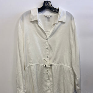 Primary Photo - BRAND: COLDWATER CREEK STYLE: TOP LONG SLEEVE COLOR: WHITE SIZE: 2X SKU: 298-29859-6123