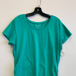 Primary Photo - BRAND: BUMPSTART STYLE: MATERNITY TOP SHORT SLEEVE COLOR: TEAL SIZE: XL SKU: 298-29859-5925