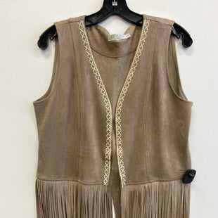 Primary Photo - BRAND: SOLITAIRE STYLE: VEST COLOR: TAN SIZE: M SKU: 298-29811-53856