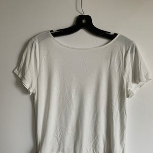 Primary Photo - BRAND: LOFT STYLE: TOP SHORT SLEEVE COLOR: WHITE SIZE: M SKU: 298-29865-1019