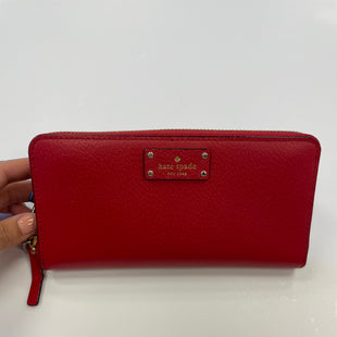 Primary Photo - BRAND: KATE SPADE STYLE: WALLET COLOR: RED SIZE: MEDIUM SKU: 298-29814-74212