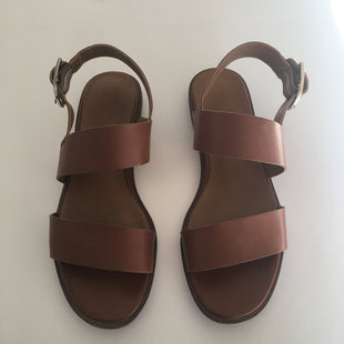 Primary Photo - BRAND: FRANCO SARTO STYLE: SANDALS FLAT COLOR: BROWN SIZE: 7.5 SKU: 298-29811-50763