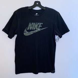 Primary Photo - BRAND: NIKE APPAREL STYLE: ATHLETIC TOP SHORT SLEEVE COLOR: BLACK SIZE: S SKU: 298-29862-665