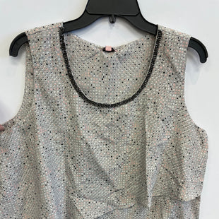 Primary Photo - BRAND: JUICY COUTURE STYLE: TOP SLEEVELESS COLOR: GREY SIZE: XL SKU: 298-29813-35383
