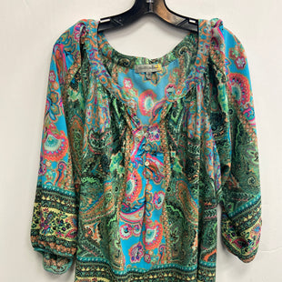 Primary Photo - BRAND:    CLOTHES MENTOR STYLE: TOP LONG SLEEVE COLOR: MULTI SIZE: 3X OTHER INFO: FIGUEROA & FLOWER - SKU: 298-29835-22698