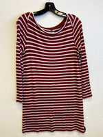 Primary Photo - BRAND: LOU AND GREY <BR>STYLE: DRESS SHORT LONG SLEEVE <BR>COLOR: STRIPED <BR>SIZE: S <BR>SKU: 298-29814-73033